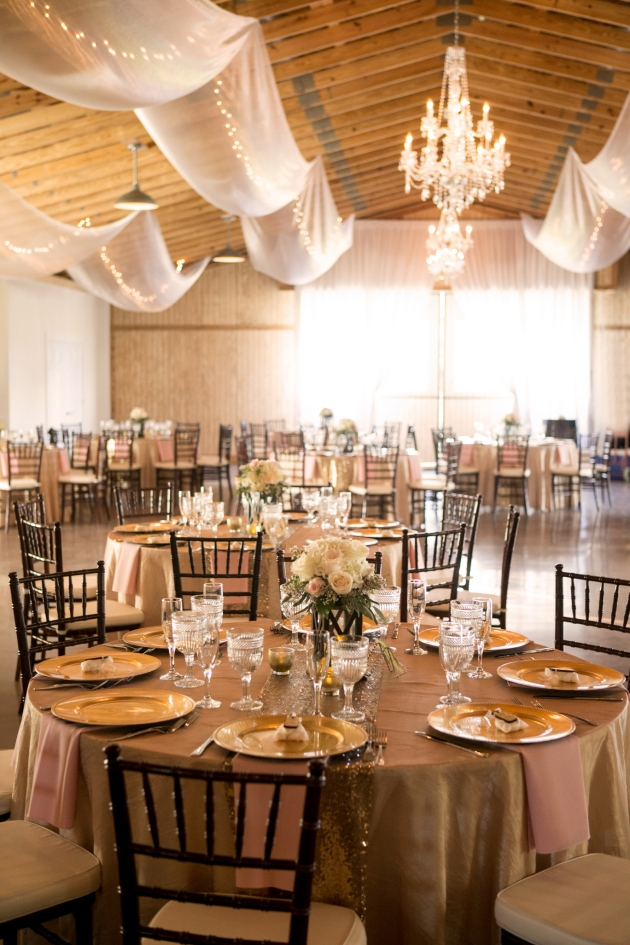 Henk Prinsloo Photography, Up the Creek Farms, Dogwood Blossom Stationery, blush pink and gold decor, Orlando wedding