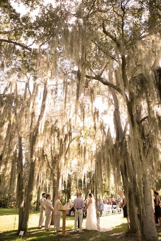 Henk Prinsloo Photography, Up the Creek Farms, Dogwood Blossom Stationery, Orlando weddings, outdoor ceremony