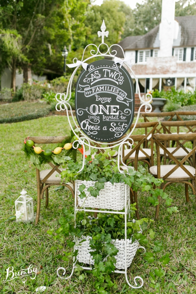 Bumby Photography, Peachtree House, Dogwood Blossom Stationery, Orlando, Citrus Wedding, Orange Wedding, Chalk Shop Events