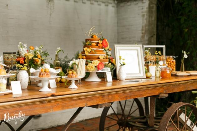 Bumby Photography, Peachtree House, Dogwood Blossom Stationery, Orlando, Citrus Wedding, Orange Wedding, Dessert