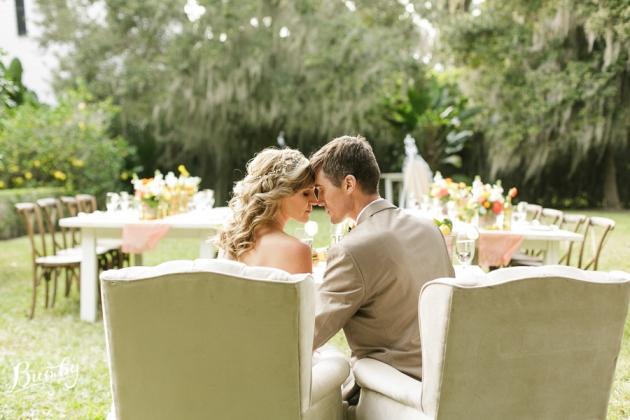 Bumby Photography, Peachtree House, Dogwood Blossom Stationery, Orlando, Citrus Wedding, Orange Wedding, Vintage