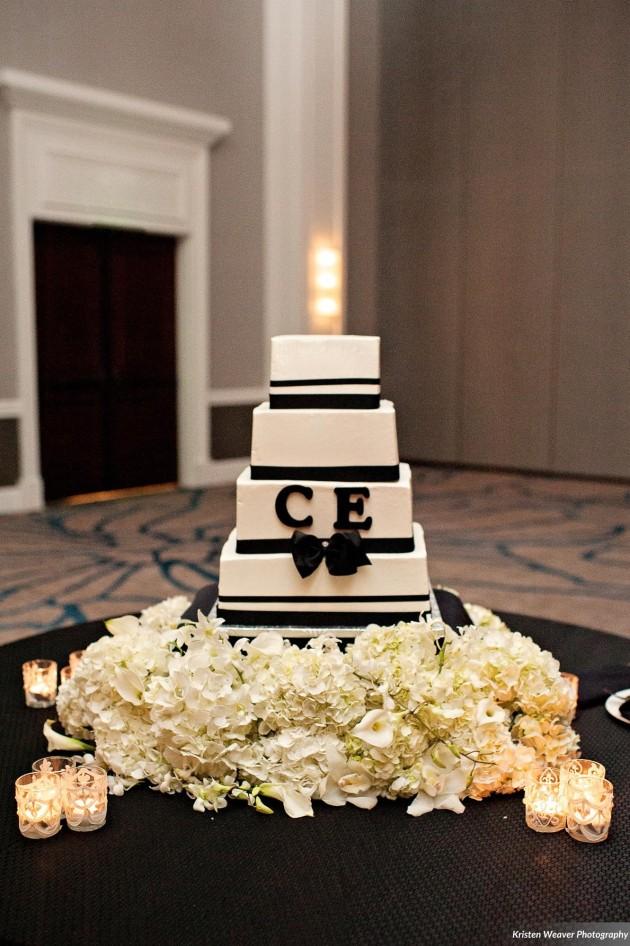 Dogwood Blossom, Kristen Weaver, Wedding Cake, Modern Wedding. jpg