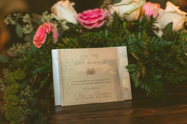 Bella-Collina-Concept-Photography-Fairytale-Wedding-Ideas-Pink-Floral-White-Floral-Rustic-Wedding-Ideas-Favors-CD-Cases-Dogwood-Blossom-Stationery-Event