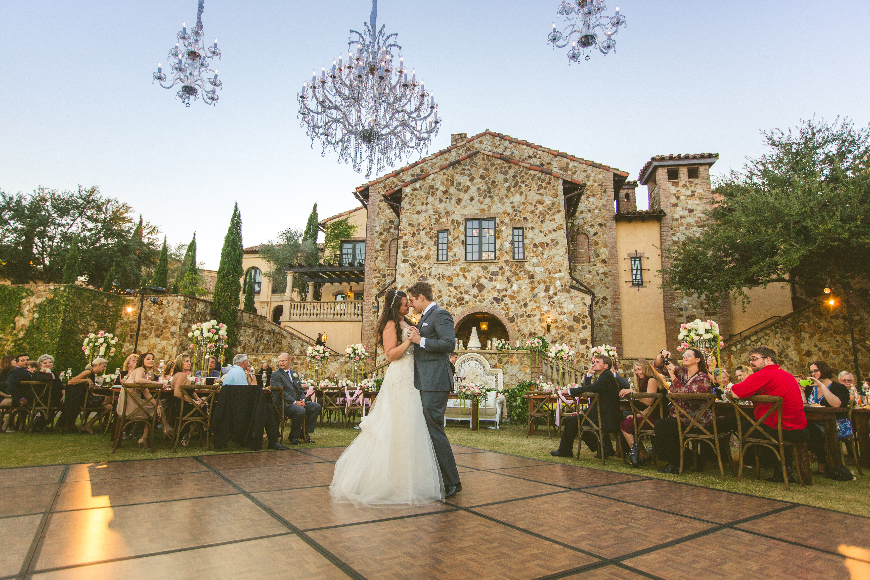 {Real Wedding} Amy And Brandon: A Fairy Tale Wedding In