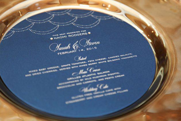 Grand-Bohemian-Hotel-Tab-McCausland-Photography-Winter-Wedding-Ideas-Navy-Wedding-Ideas-Round-Custom-Menus-Thats-A-Wrap-Dogwood-Blossom-Stationery-Event