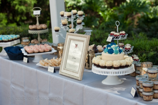 The Canovas Photography, Dogwood Blossom Stationery, Cypress Grove Estate House, dessert buffet signs