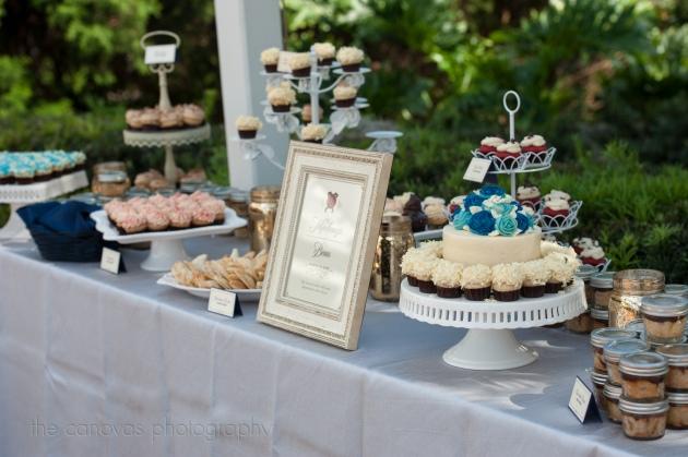 The Canovas Photography, Dogwood Blossom Stationery, Cypress Grove Estate House, dessert buffet signs