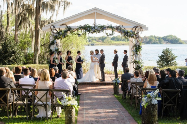 The Canovas Photography, Dogwood Blossom Stationery, Cypress Grove Estate House, outdoor ceremony, blue wedding