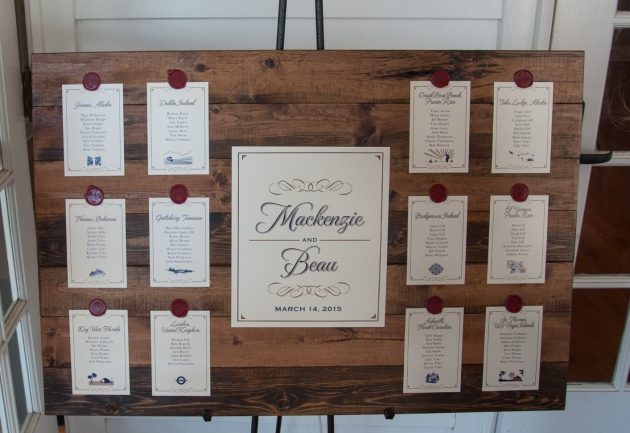 The Canovas Photography, Dogwood Blossom Stationery, Cypress Grove Estate House, seating chart
