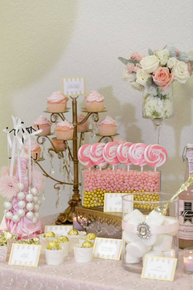 Dessert Signs, Two Sweets Bake Shop, Ballerina Birthday Inspiration, Bumby Photography, Dogwood Blossom Stationery Event