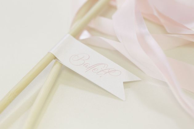 Favor Tags, Ribbons, Ballerina Birthday Inspiration, Bumby Photography, Dogwood Blossom Stationery Event