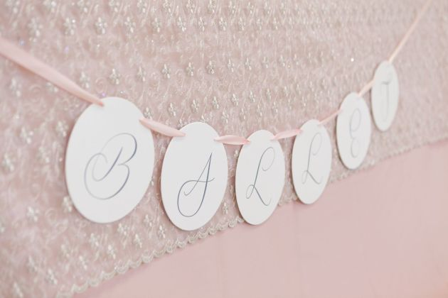 Table Sign, Ballerina Pink, Ballerina Birthday Inspiration, Bumby Photography, Dogwood Blossom Stationery Event