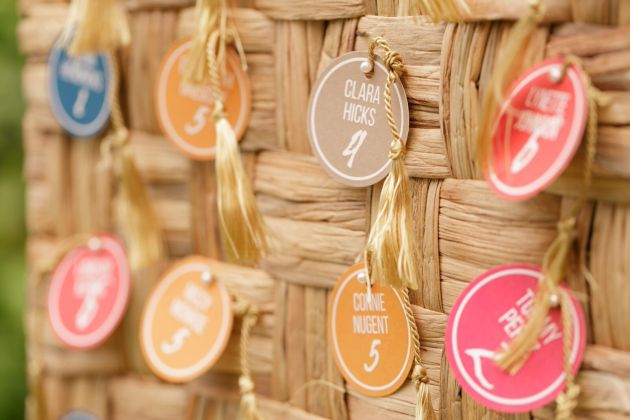 Tassel Escort Tags
