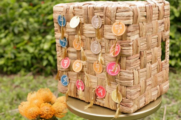 Weave Basket Seating Chart
