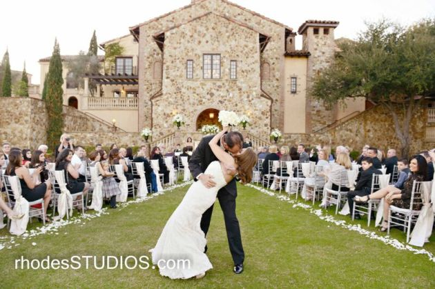 Outdoor ceremony - Bella Collina
